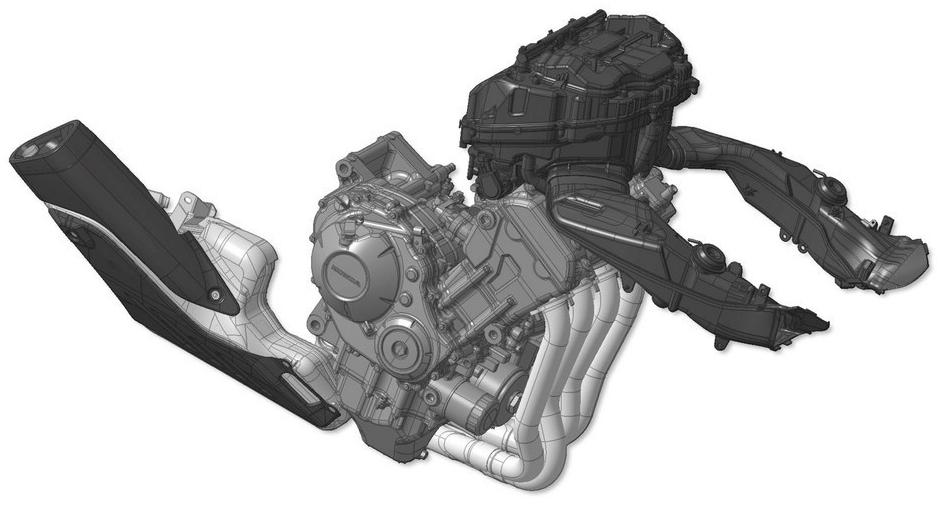 двигатель cbrr1000r